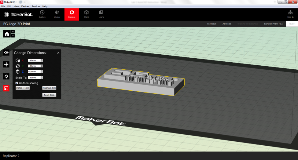 Introduction to 3D Printing AutoCAD - EG1003 Lab Manual
